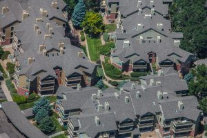 Residential Apartments Roof View